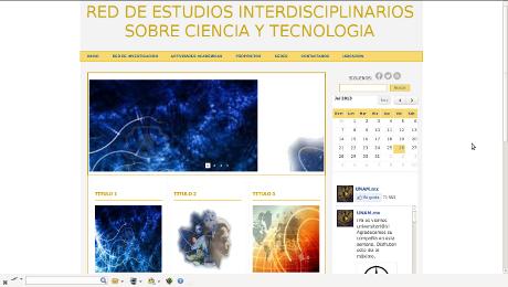 Red de Estudios interdisciplinarios sobre Ciencia y Tecnología
